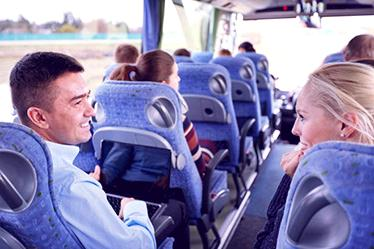 Charter Bus Transportation Service for Private Events